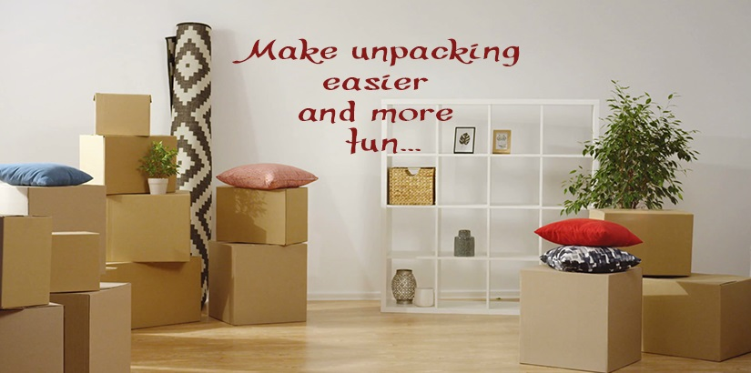 Do These Things When Unpacking Your New Home.