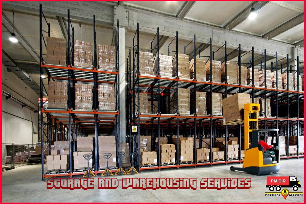 Storage and Warehousing Services by Gurugram Packers and Movers