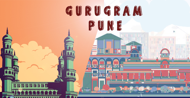 Gurugram or Pune. Which city is better for Job relocation
