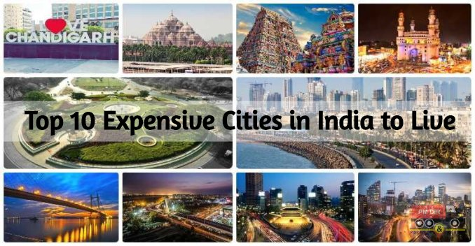 Top 10 Expensive Cities in India to Live