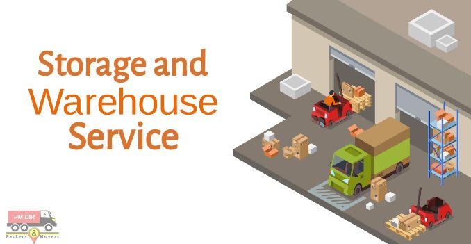 Packers and Movers Services for Storage and Warehousing