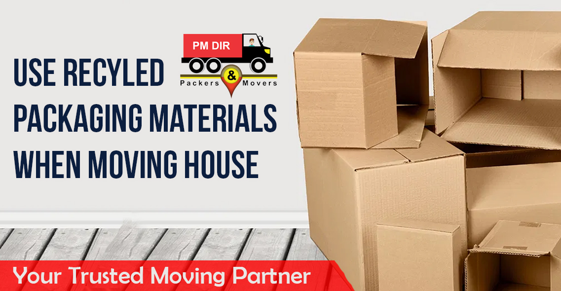 5 Reasons to Use Recycled Packaging Materials When Moving House