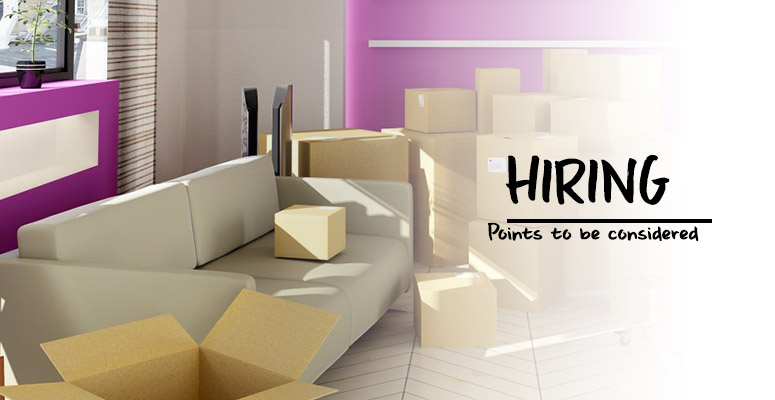 Points of Consideration when Hiring Packers and Movers