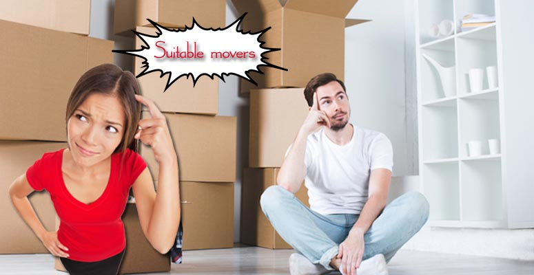 How to Choose a Suitable Mover When You Have So Many Options?