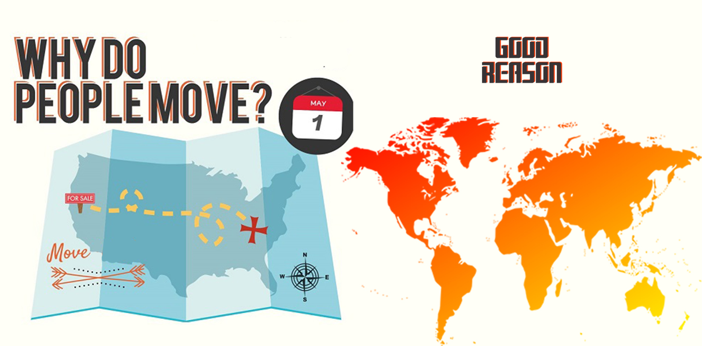 Why do people relocate? Some good reason