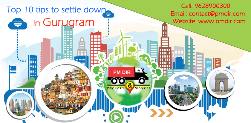 Top 10 tips to settle down in Gurugram