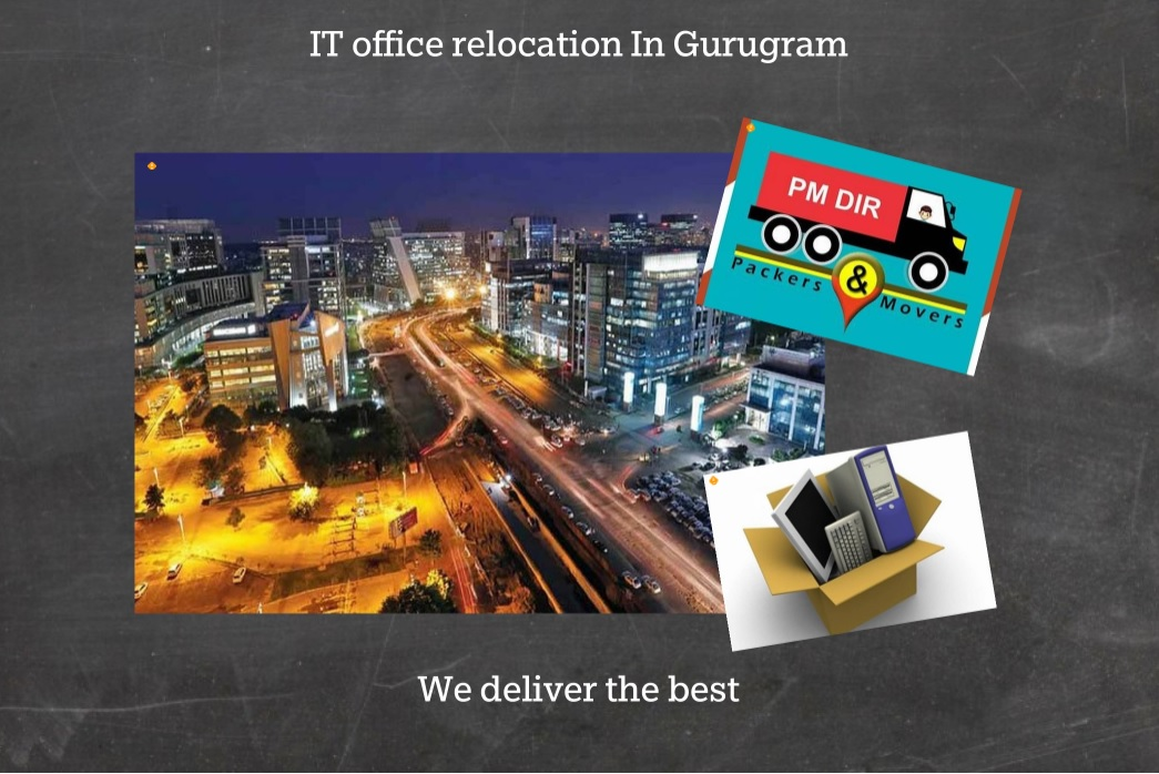 IT office relocation In Gurugram