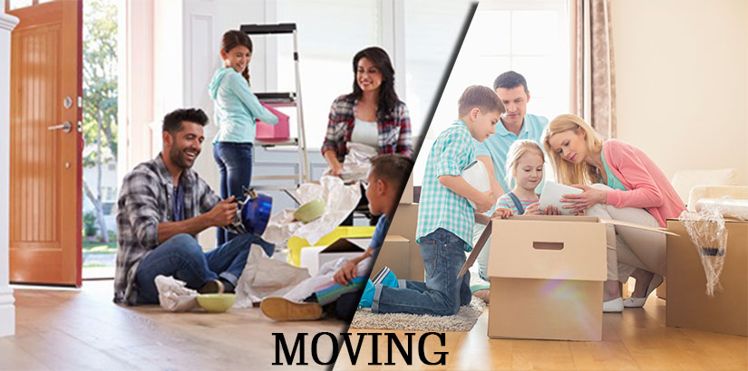 Moving with a Large Family