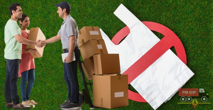 How to Pack Your Household Stuff Before Moving When Plastic is Ban?