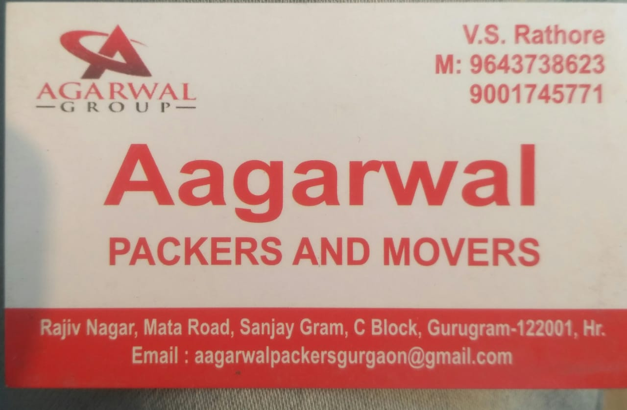 Aagarwal Packers and Movers Gurgaon