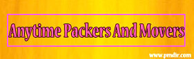Anytime Packers and Movers Nashik