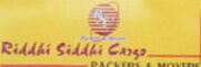 Riddhi Siddhi Cargo Packers and Movers Ahmedabad